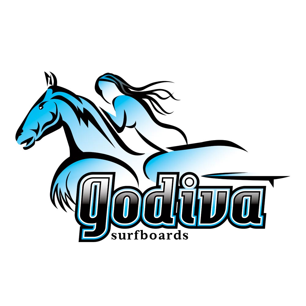 Logo Design – Godiva Surfboards