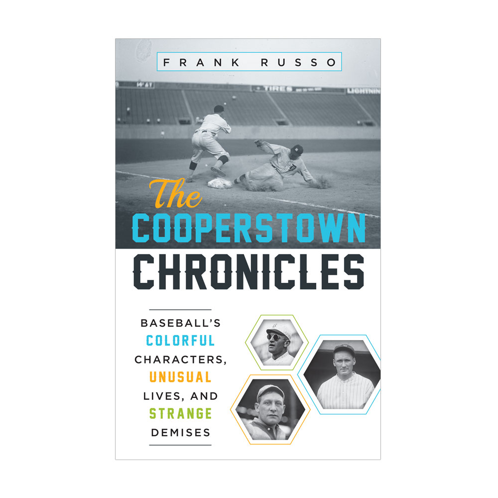Book Cover Design – The Cooperstown Chronicles