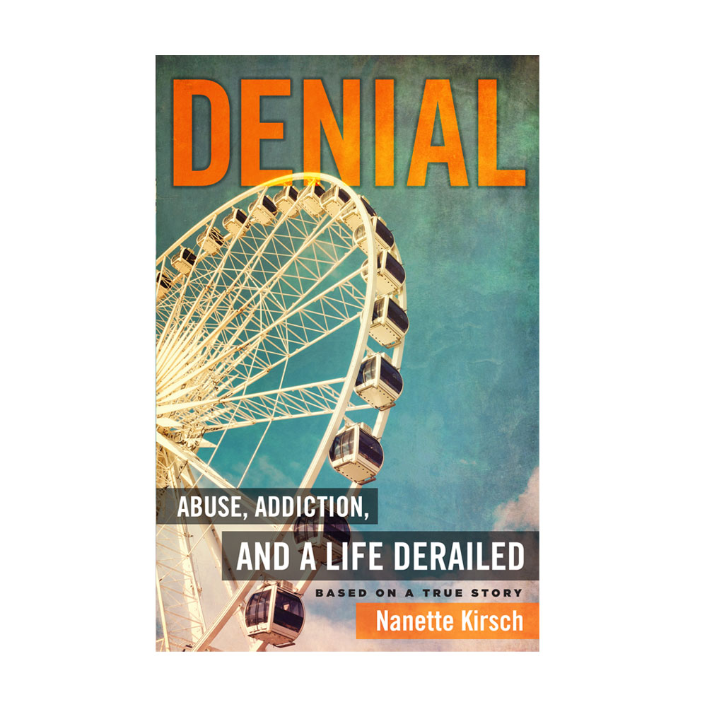 Book Cover Design – Denial