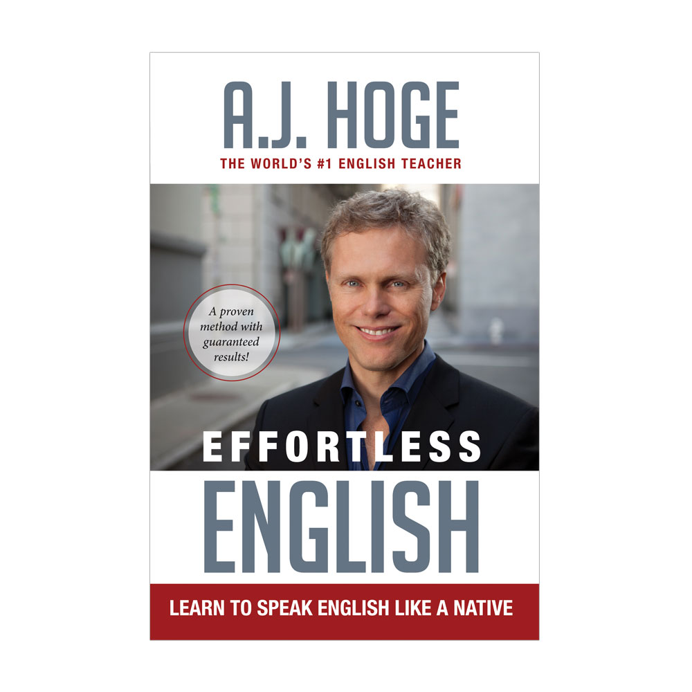 Book Cover – Effortless English