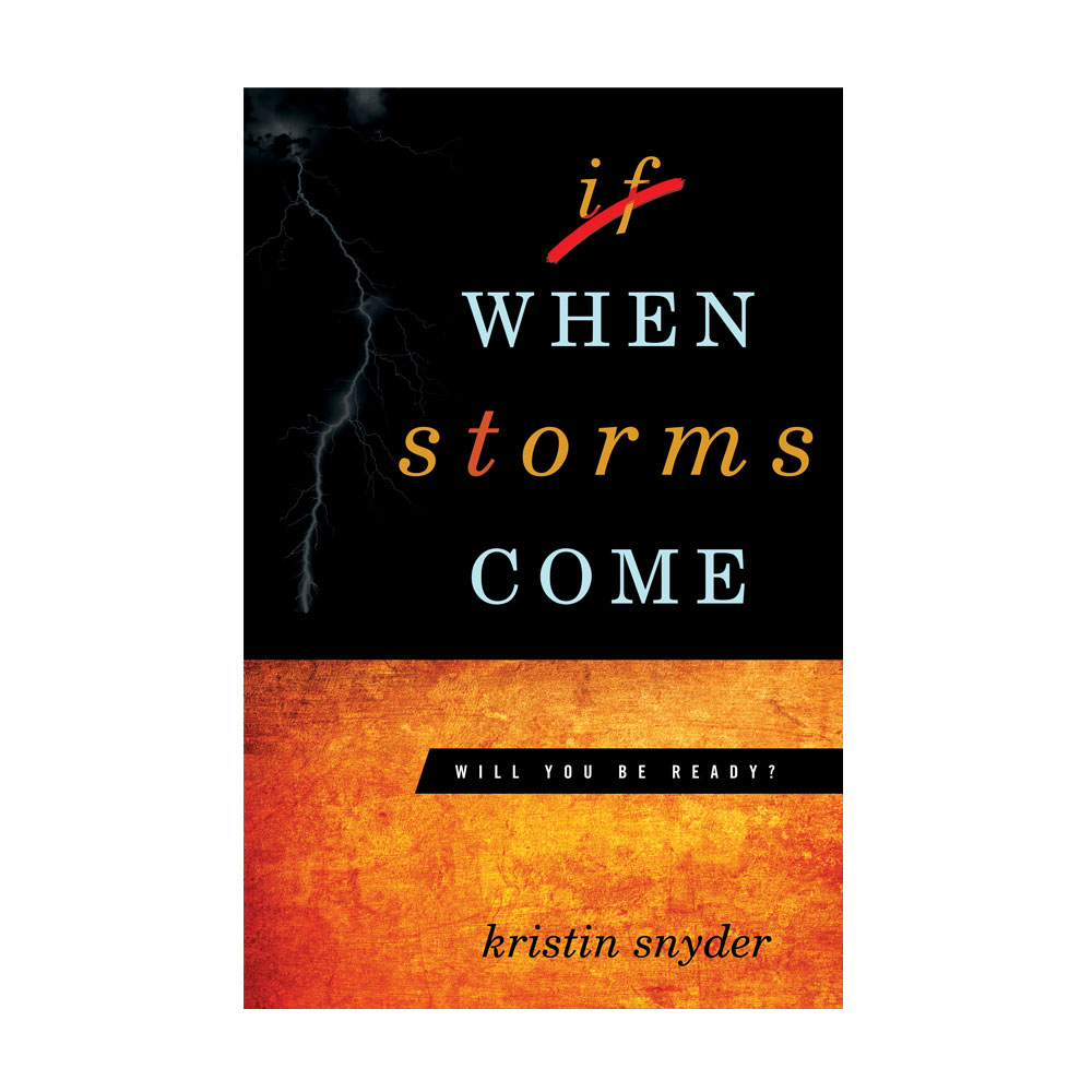 Book Cover Design – When Storms Come