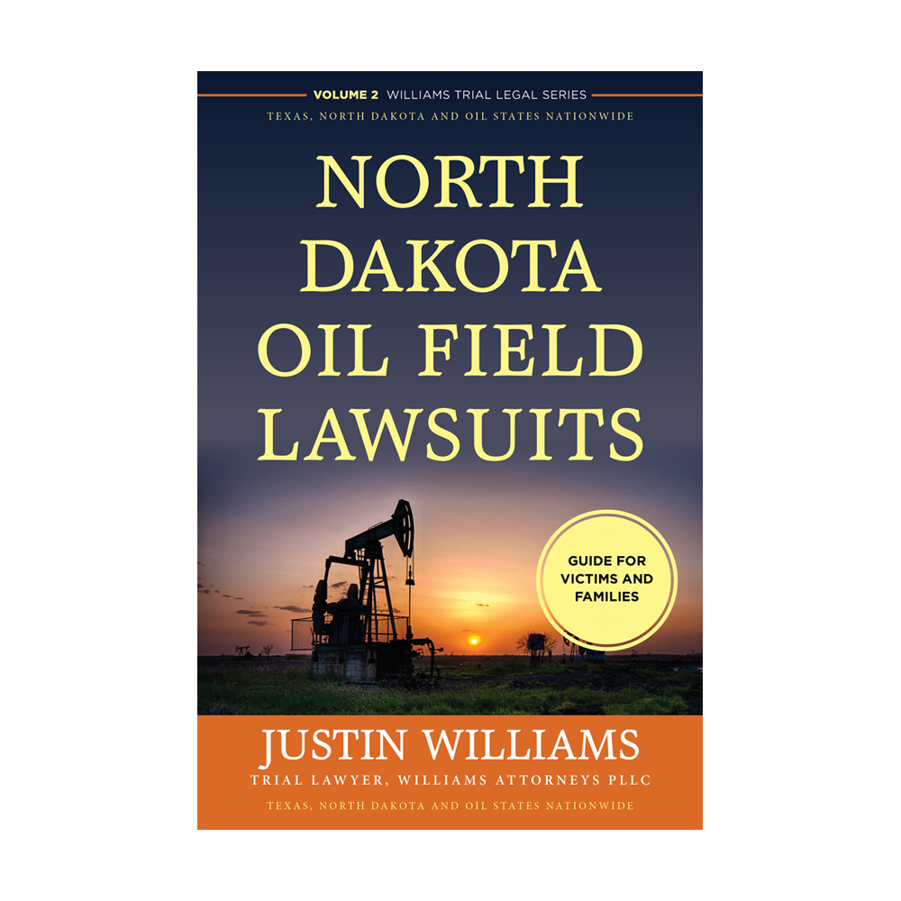 Book Cover – North Dakota Oil Field Lawsuits