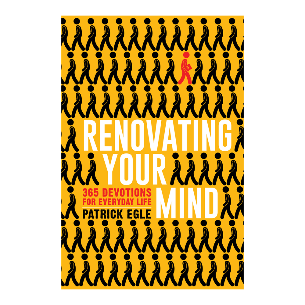 Book Cover – Renovating Your Mind