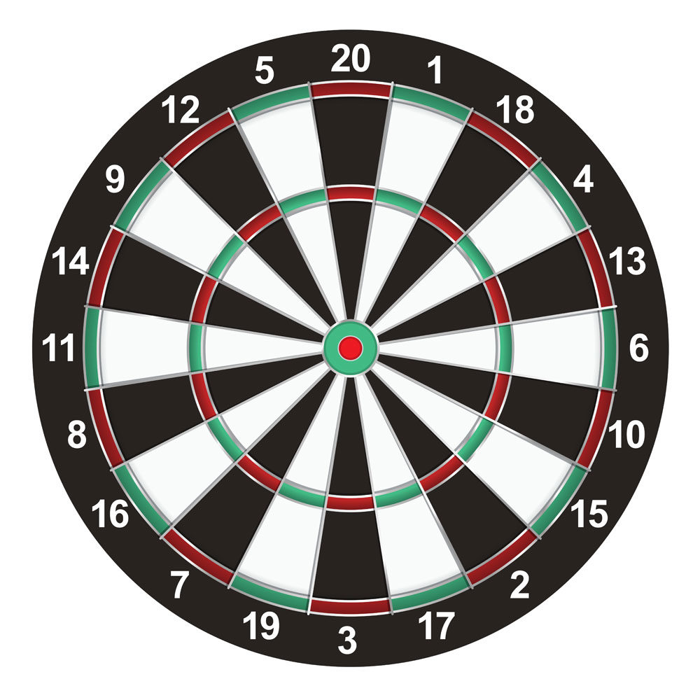 Illustration – Dart Board
