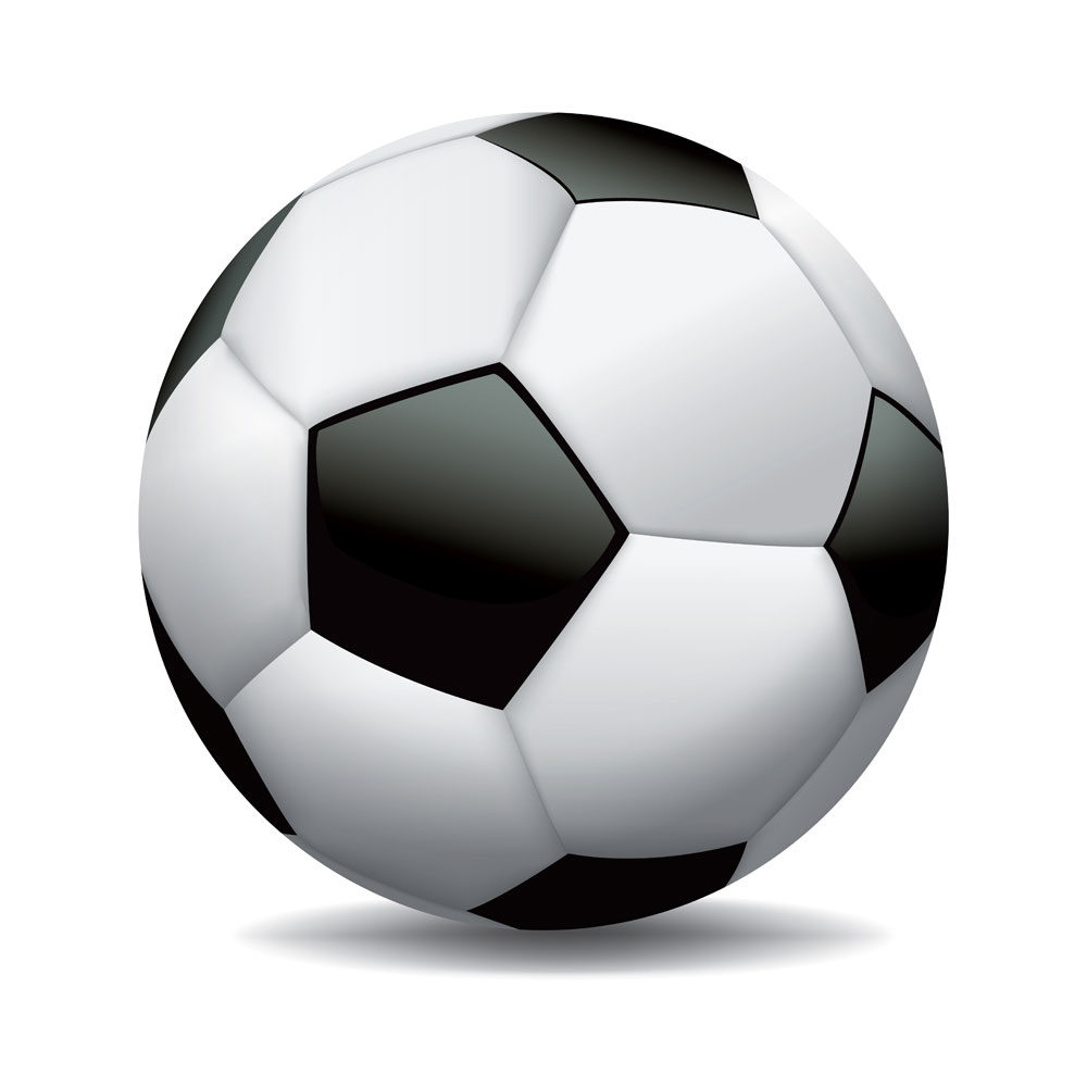 Illustration – Soccer Ball Isolated on White