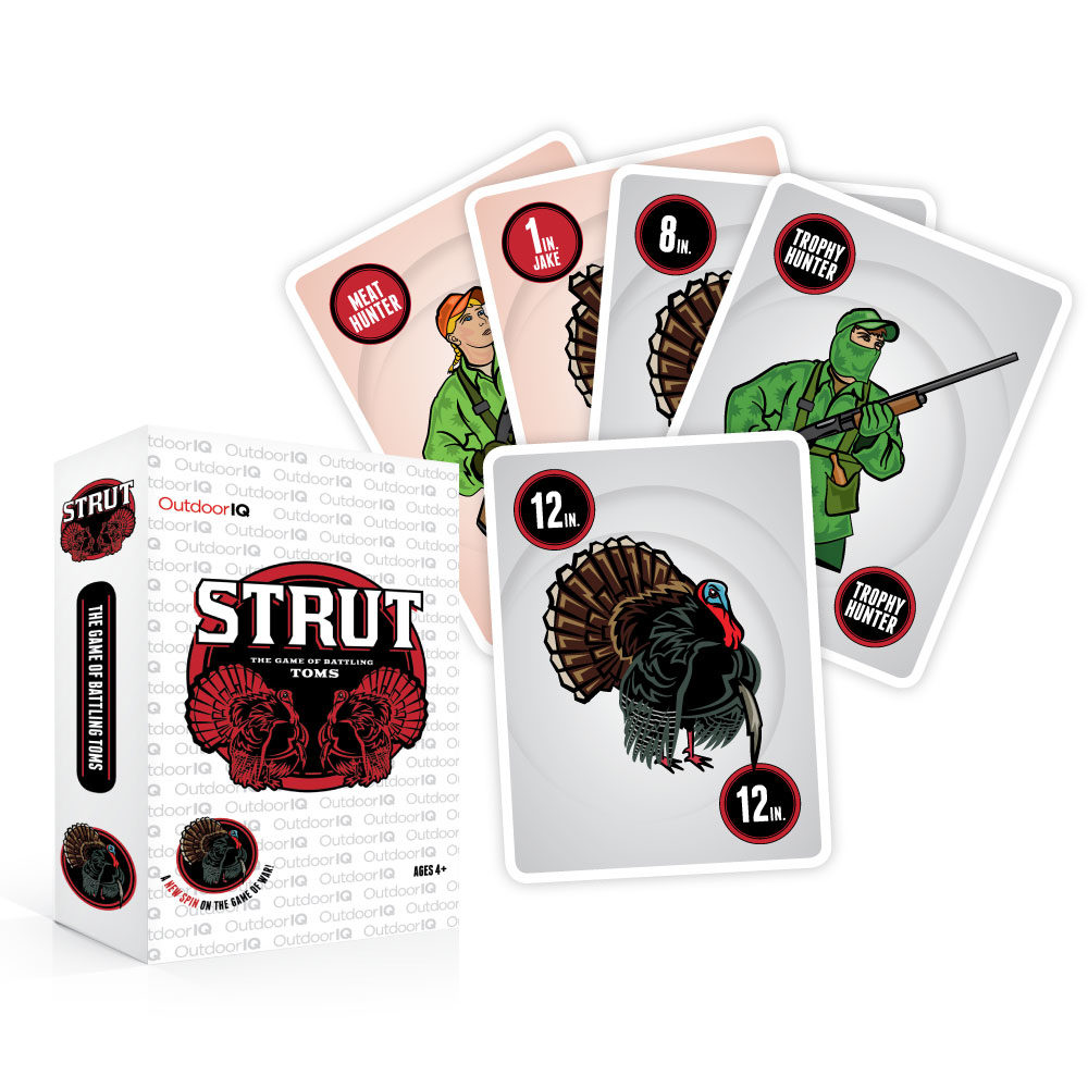 Illustration – Strut Card Game