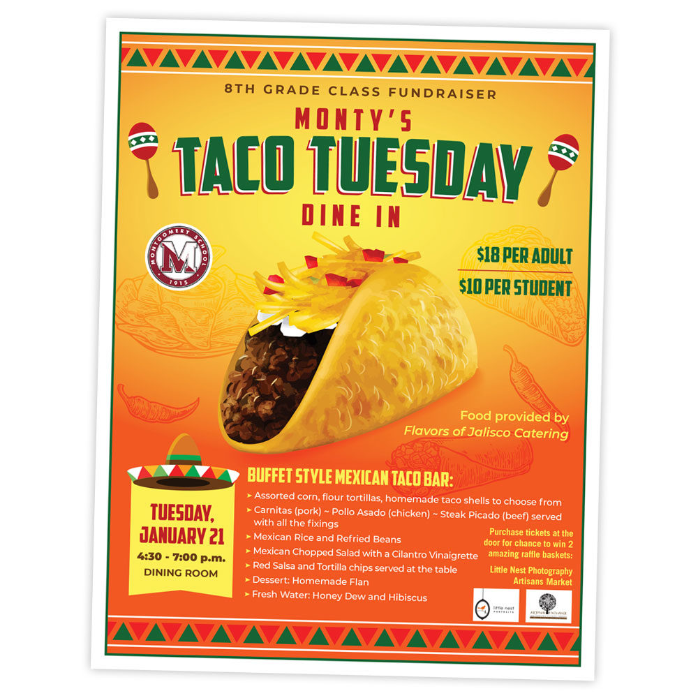 Advertising – Taco Tuesday Flyer