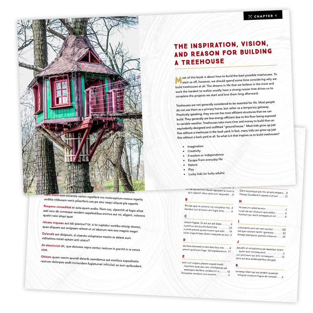 Interior Design – Treehouse Book