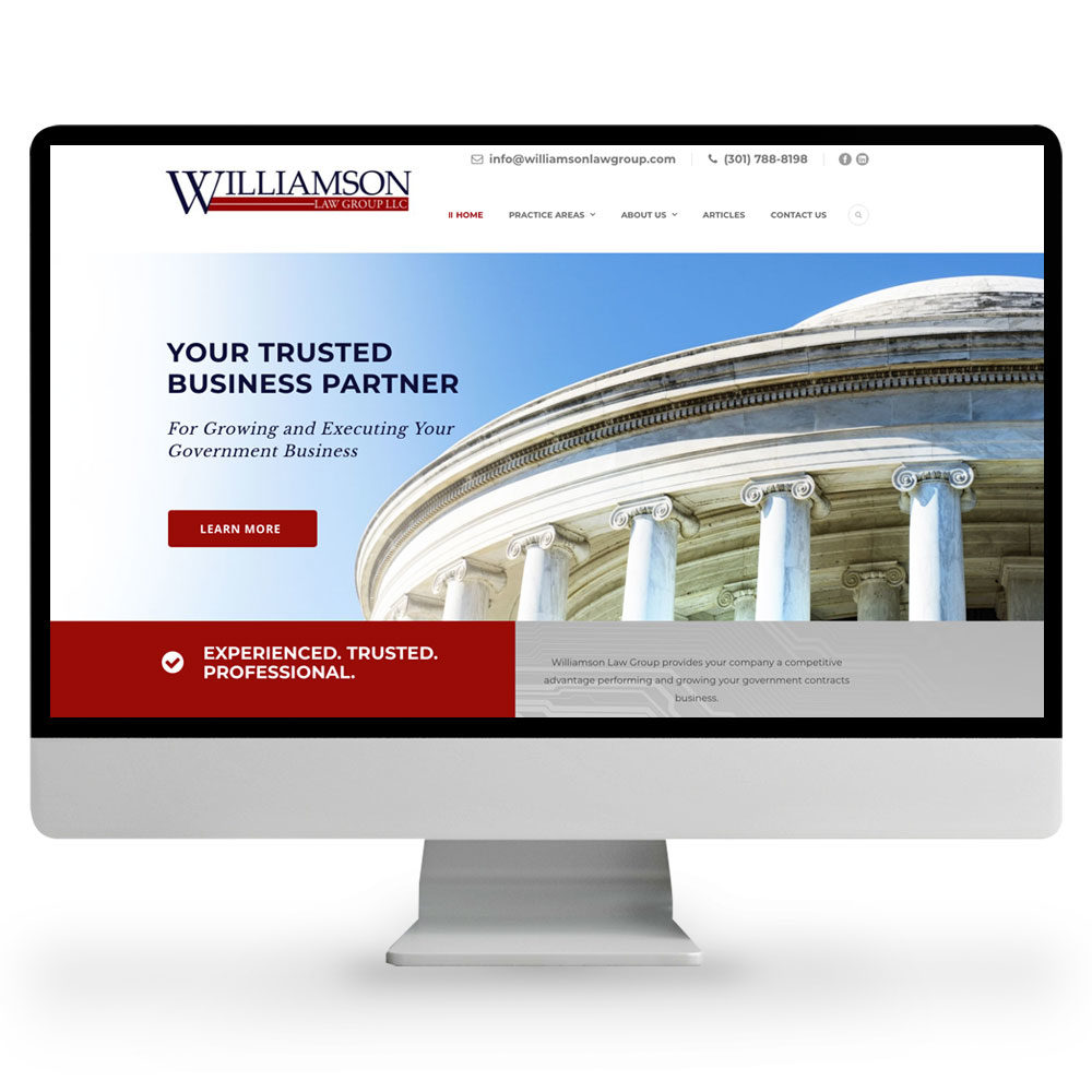 Web Design – Williamson Law Group
